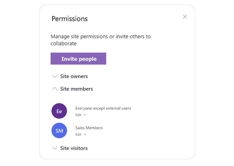 Everyone except external users group