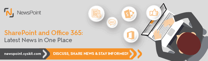 NewsPoint – SharePoint and Office 365 News in One Place!